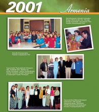 July 7-8, 2001 - Armenian National Academic Theatre of Opera and Ballet