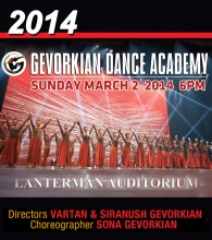 March 2, 2014 - Lanterman Auditorium