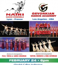 Nairi Dance Ensemble and Gevorkian Dance Academy