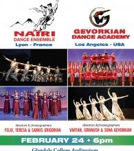 Nairi Dance Ensemble and Gevorkian Dance Academy