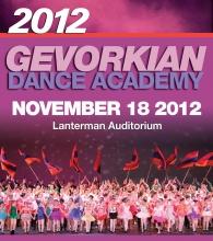 November 18, 2012 - Lanterman Auditorium
